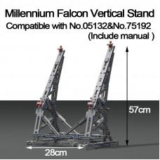 Millennium Falcon Vertikale Display Fur 05132 / 75192|MOC