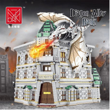 Mork 032101 Gringotts Bank & Ukranian Ironbelly Dragon - Dia--gon Alley | HOUSE