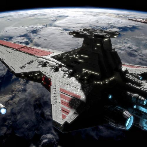 81067/05077 THE RED WHITE CRUISER VENATOR | SPACE
