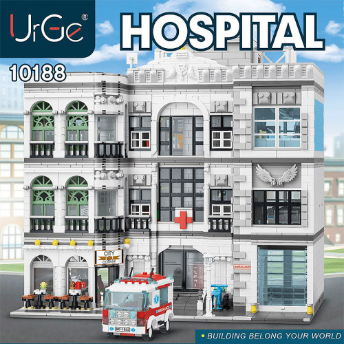 10188 THE HOUSE WHERE THERE ARE LIVING PATIENTS - HOSPITAL | HOUSE