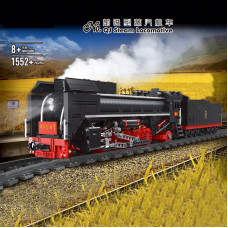 12003 MOULD KING THE QJ STEAM LOCOMOTIVE WITH REMOTE CONTROL | TRAIN
