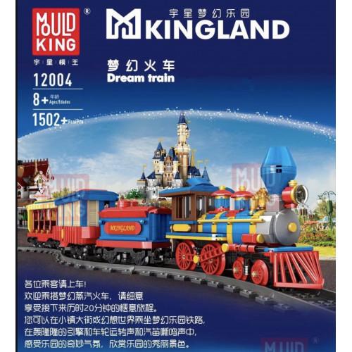 MOULD KING 12004 THE DREAM TRAIN | MOC