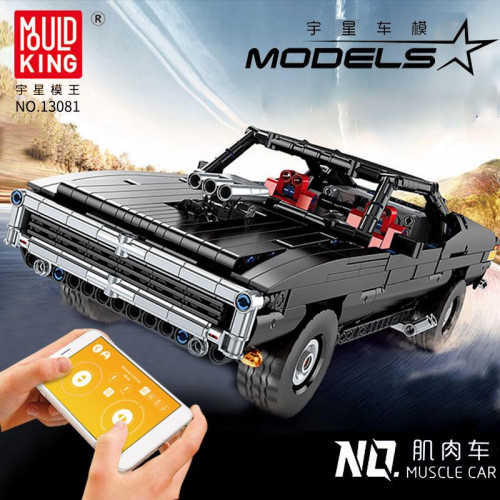 13081 MOULD KING THE UlTIMATE MUSCLE CAR WITH APP CONTROL | SPORT CAR