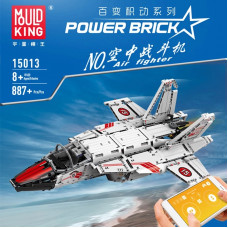 15013 THE MOULD KING THE AIR FIGHTER WITH RC APP | ACG