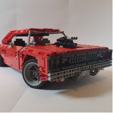 15708 THE RED DODGE CHARGER| MOC
