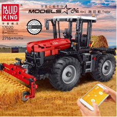 Mould King 17020 RC Tractor Fastrac 4000er series| SPORT CAR