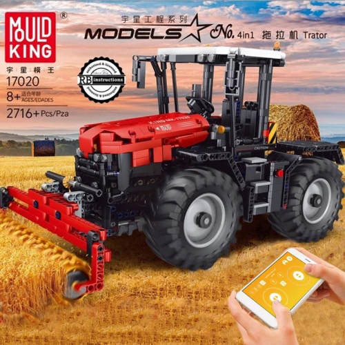 Mould King 17020 RC Tractor Fastrac 4000er series  SPORT CAR