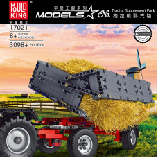 Mould King 17021 Tractor Supplement Pack 4 IN 1| SPORT CAR