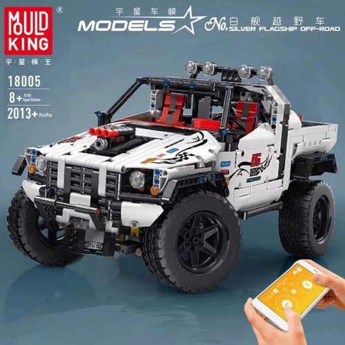 18005 MK THE WHITE OFF-ROAD CAR WITH APP CONTROL  | SPORT CAR