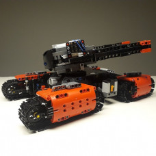 29297 THE ORANGE TANK IN THE BATTLE FIELD|MOC