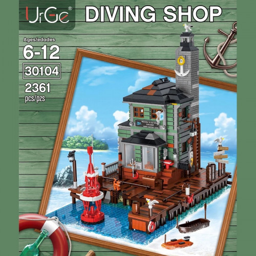 30104 THE DIVING SHOP | HOUSE