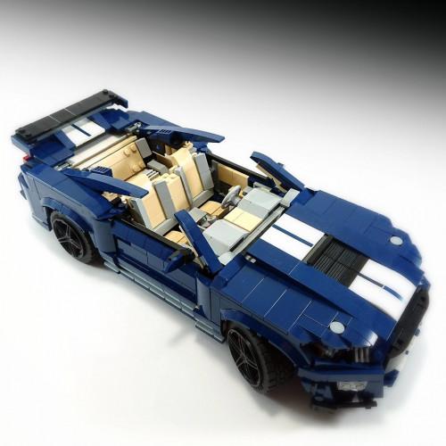 32898 THE ALTERNATIVE BLUE CAR - B MODEL |SPORT CAR