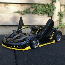 A 39933 THE  BLACK HYPER CAR 1:8 【W/T PHSYCAL MANUAL】 | SPORT CAR