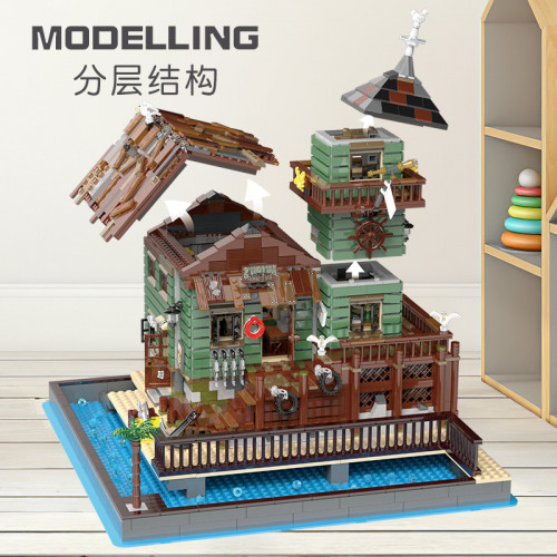 52004 THE OLD FISHING STORE 2.0 |MODULAR