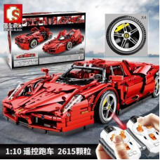 701020 SEMBO RED RACING CAR | SPORT CAR