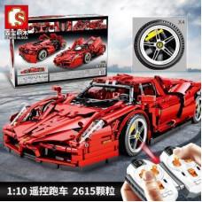 701020 SEMBO RED RACING CAR | SPORT CAR