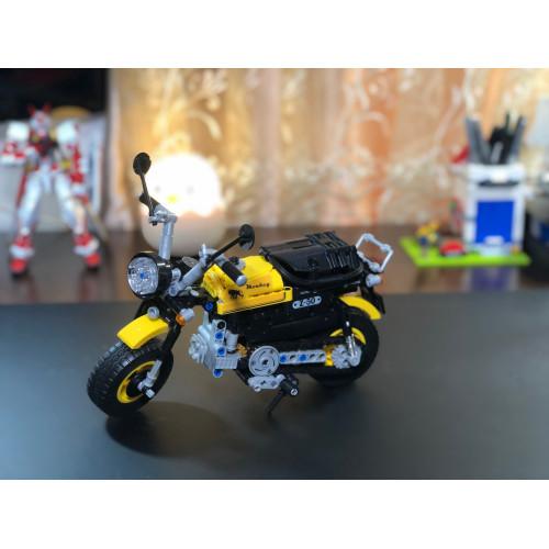 Winner 7071 Yellow motorbike   TECHINC 