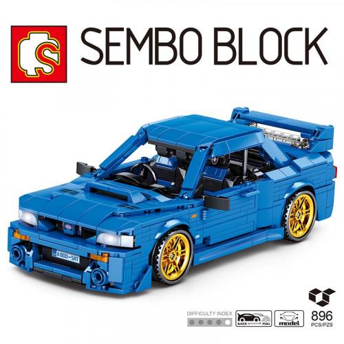 Sembo Block Pull Back Car 8408   CREATOR