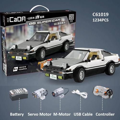 CADA C61019 Initial D RC Toyota AE86 | SPORT CAR