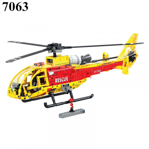 Winner 7063 Yellow Helicopter | TECHINC|