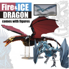 001 K89 / K90 THE RED AND BLUE DRAGON   CREATIVE  
