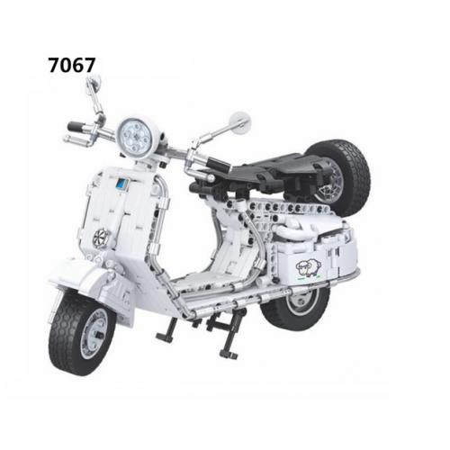 Winner 7067 Pedal Motorcycle   TECHINC 