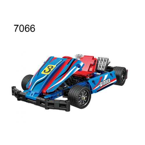 Winner 7066 Blue Kart Racing Car | TECHINC|