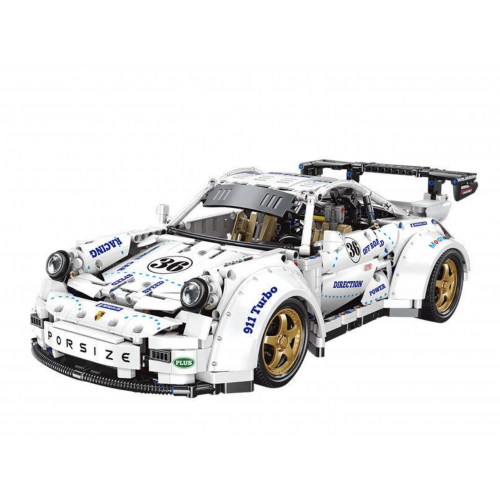 YC-QC016 THE WHITE SUPER CAR 911 THE SCALE 1:8 | SPORT CAR